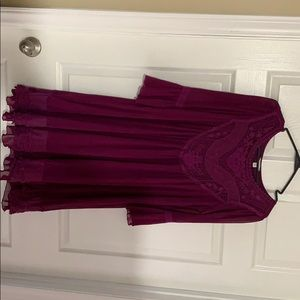 Purple/plum dress